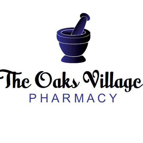 Create the next logo for The Oaks Village Pharmacy
