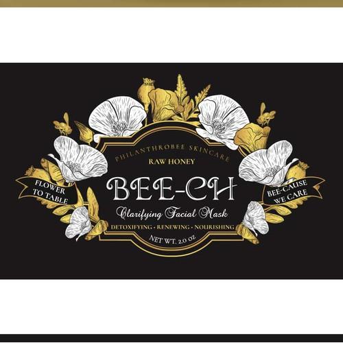 Luxury apiary skincare line