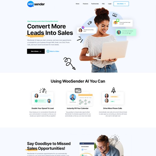 Web Design for Marketing Automation Tool