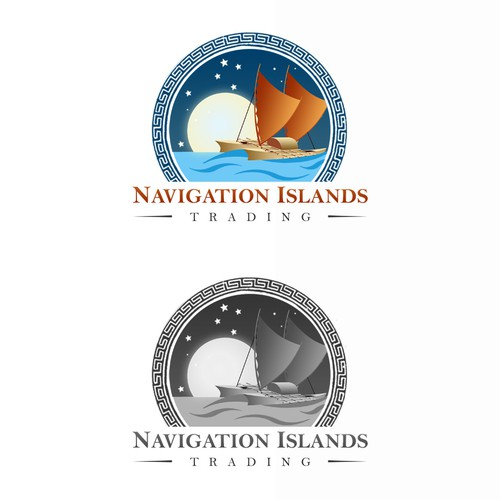 Navigation Islands Trading Logo Contest
