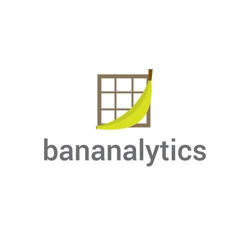 Banana Logo for Analytics service
