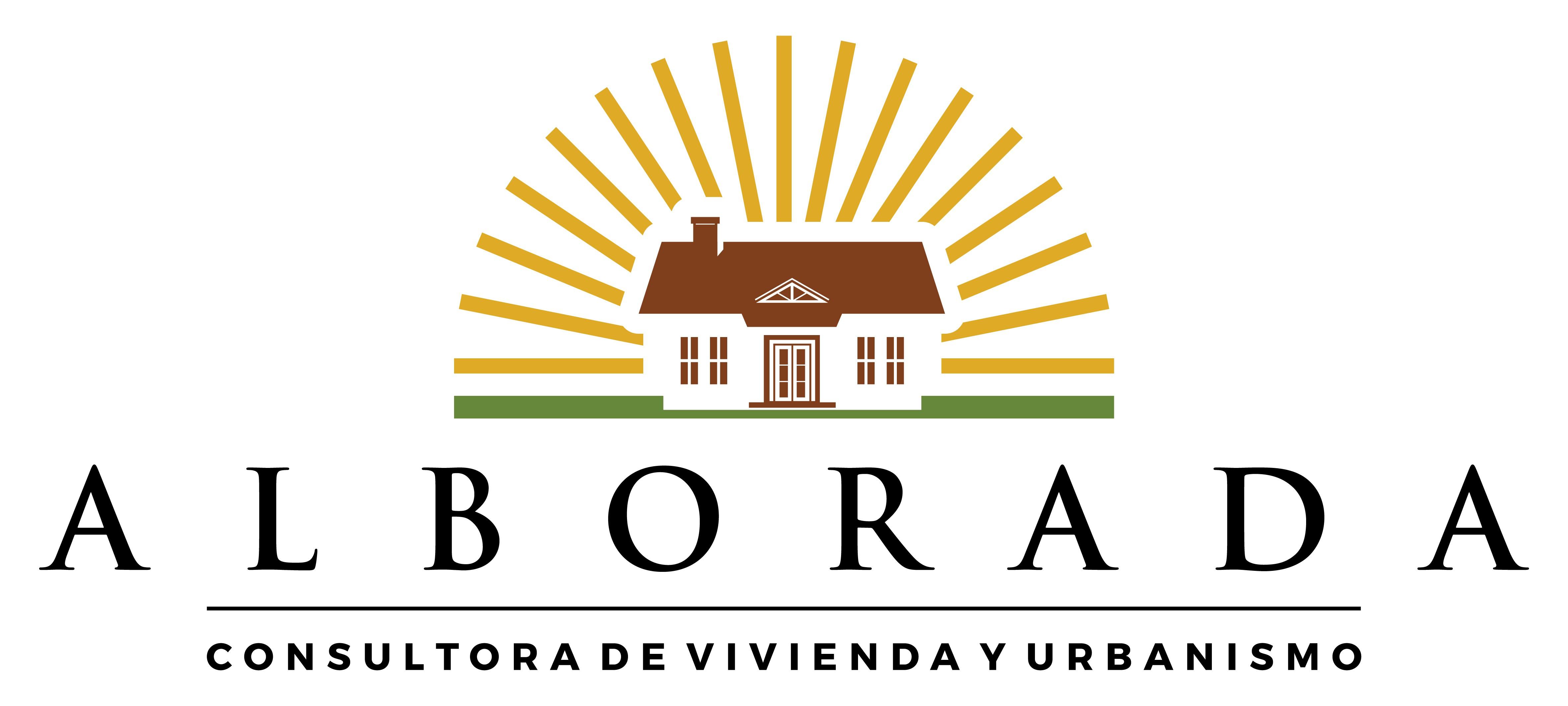 Diseña un logo para Alborada, empresa social que mejora hogares.