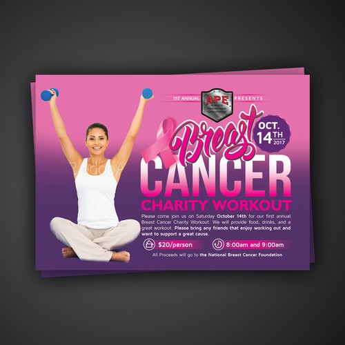 Breast Cancer Charity Workout