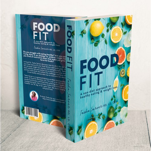 Food Fit Book Cover Design!