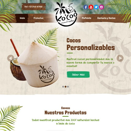 Coconut Website
