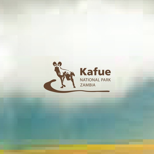 Logo design for KAFUE National Park Zambia