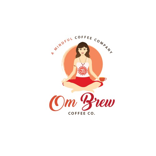 logo for a women owned Organic Fresh Roasted Coffee Company