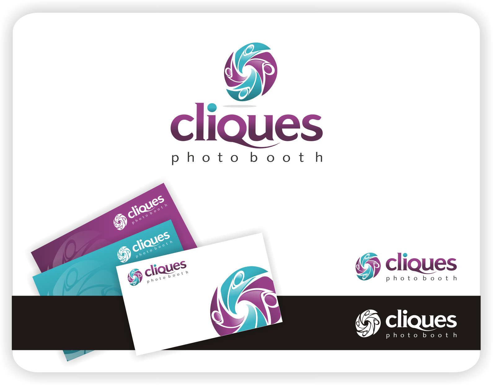 Create the next logo for Cliques Photo Booth