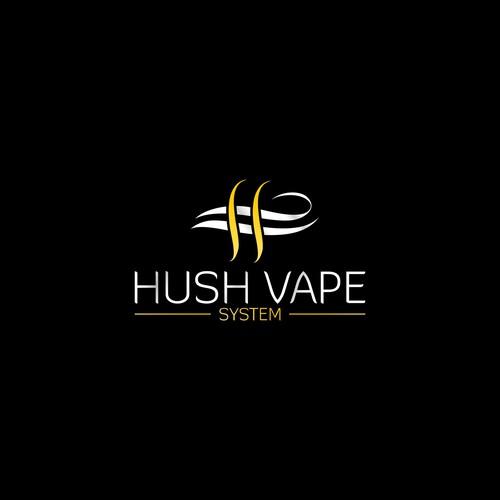 Elegant logo Concept for Hush Vape