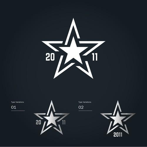 2011 star logo concept for sport center
