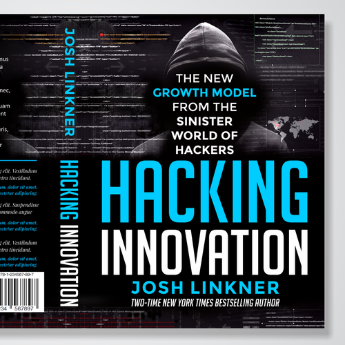 Book Cover Design for Hacking Inovation