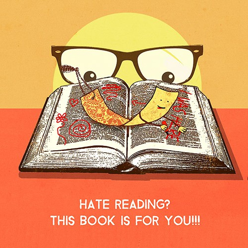 umorous Book Needs Simple Cover Design
