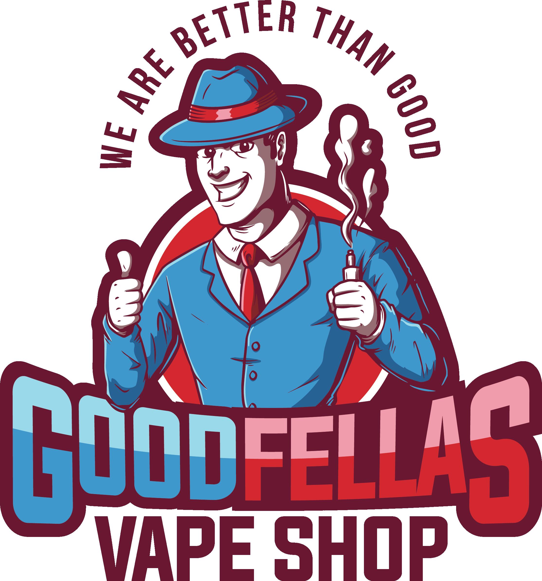 GoodFellas Vape Shop Logo Design