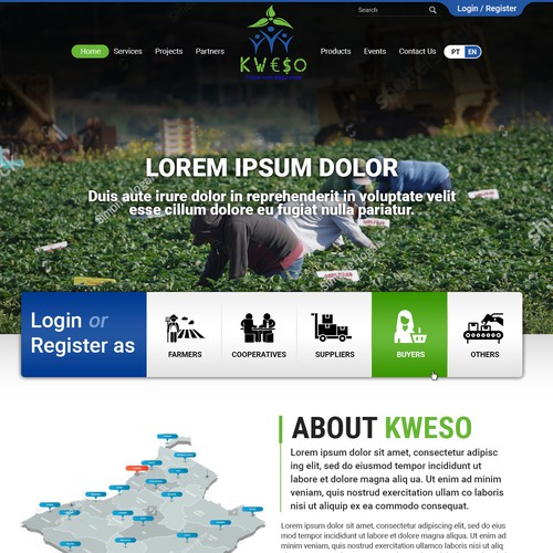 Web site for Farmers Software