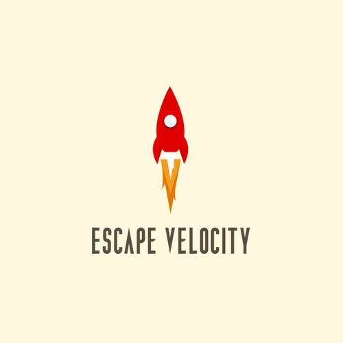 Logo for new tech consulting firm - Escape Velocity.