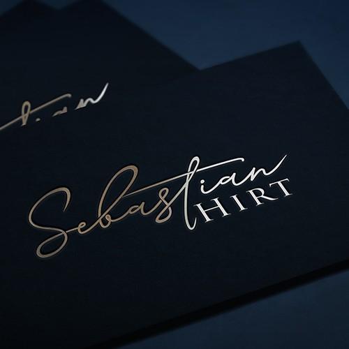 Logo lettering design