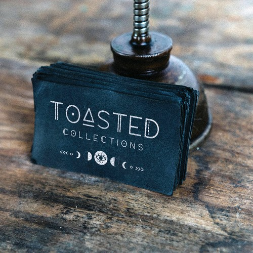 Fun logo concept for Toasted Collections