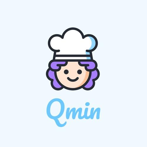 Qmin Logo Design