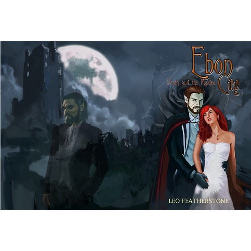 Help Leo Featherstone with a new vampire book cover illustration