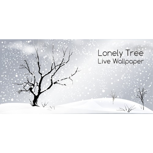 Graphic for Lonely Tree Live Wallpaper