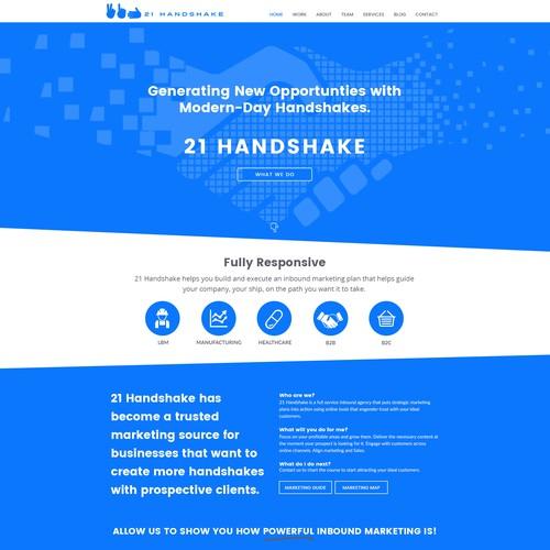 21 Handshake