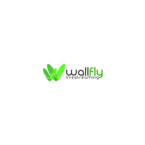 Web video streaming company logo design