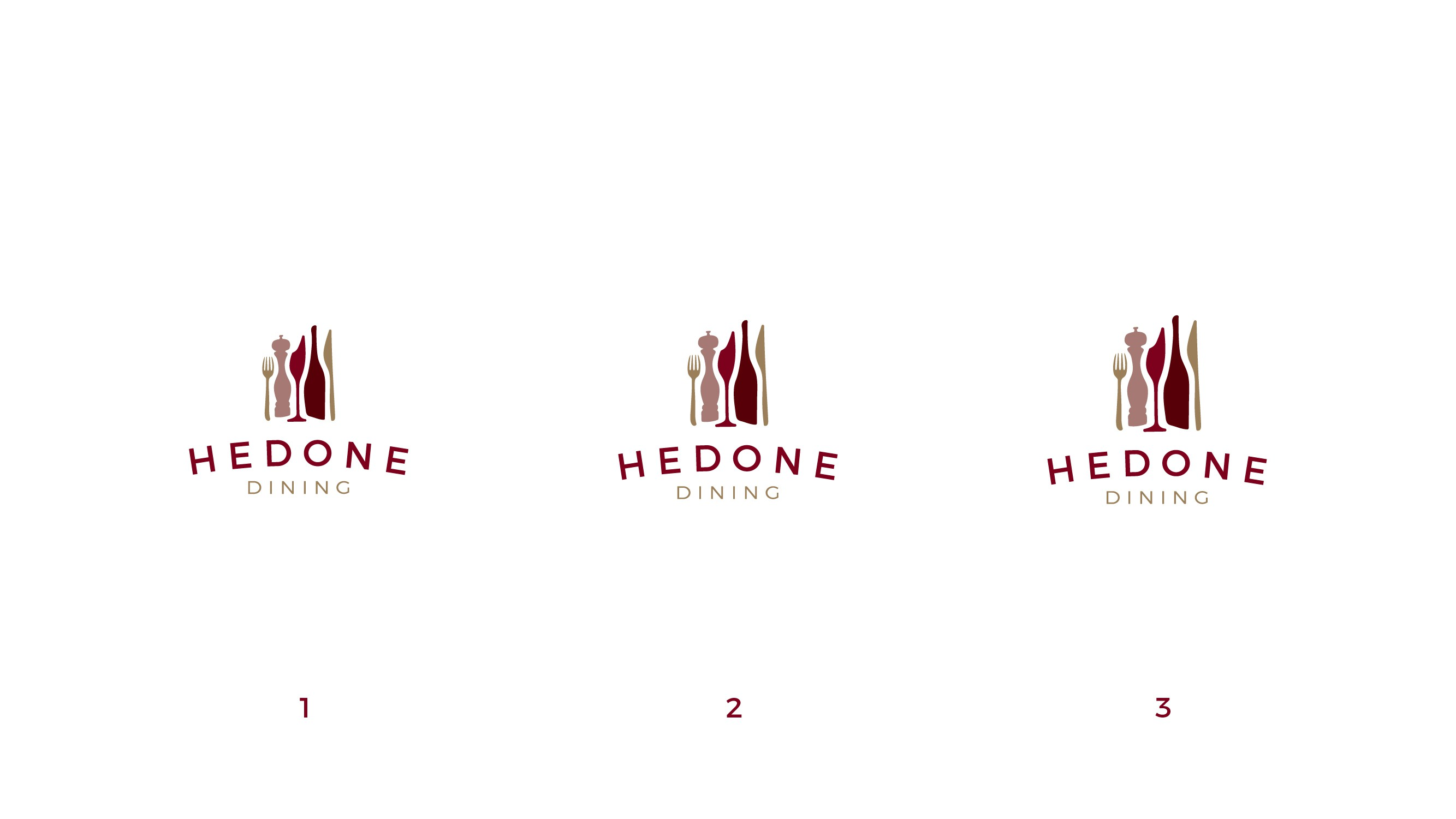 Sophisticated logo for growing gourmet home dining kit service in London