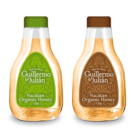 New Label for a Mexican Honey Brand