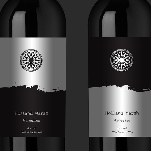 Classy rustic art- Label needed to match the wine