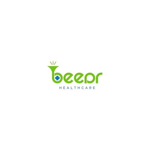 beep logo concept
