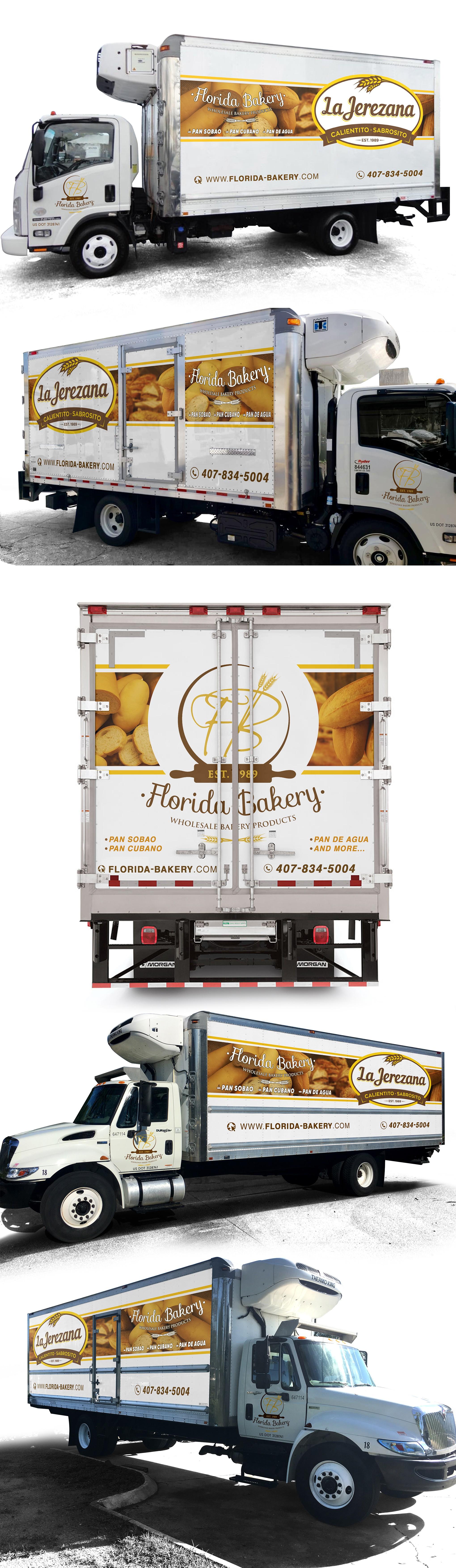 Bread Truck Wrap