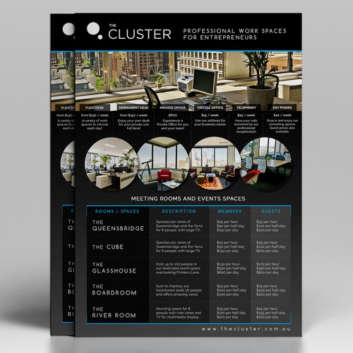 The Cluster Flyer