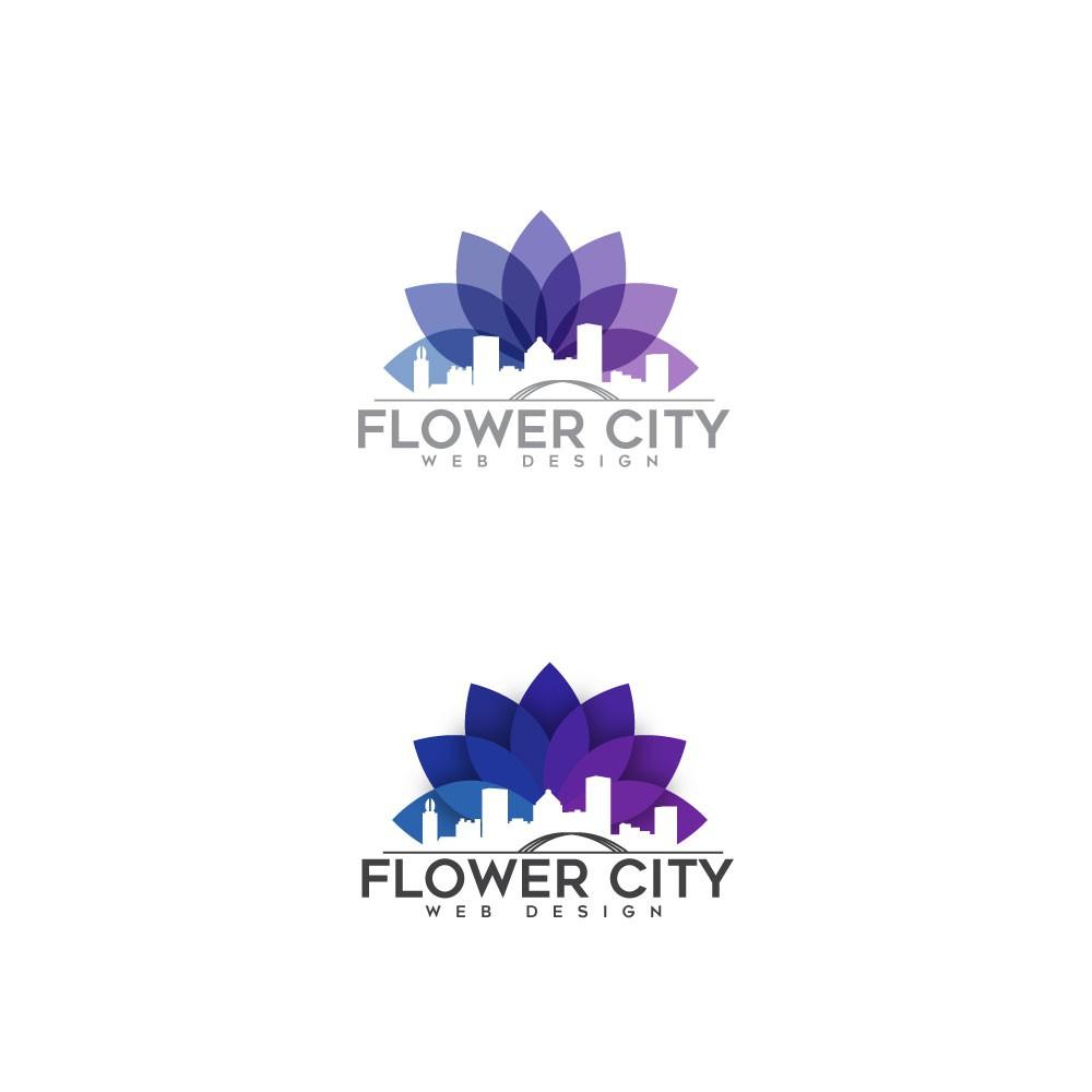 Flower City Web Design Logo