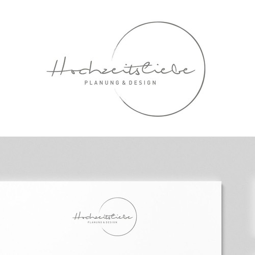 Logo for a wedding planner agency