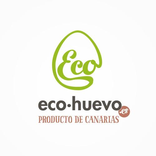 Logo for a ecologic eggs brand