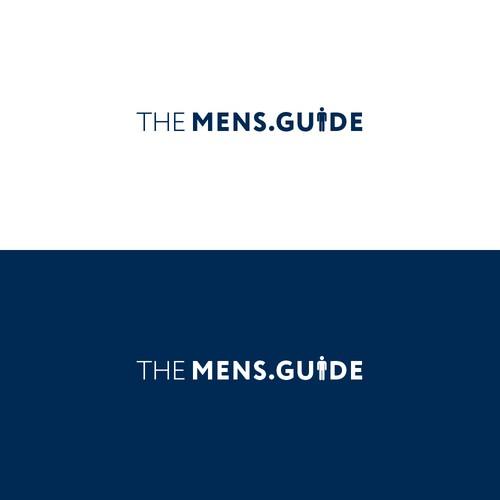 Bold logo for Mens. lifestyle website