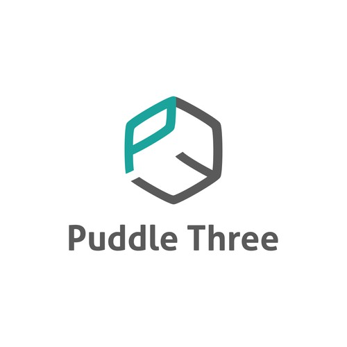 Puddle Three Logo design