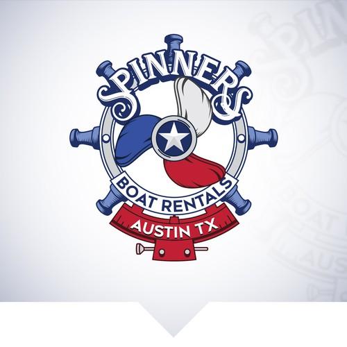 Logo design for boat rental