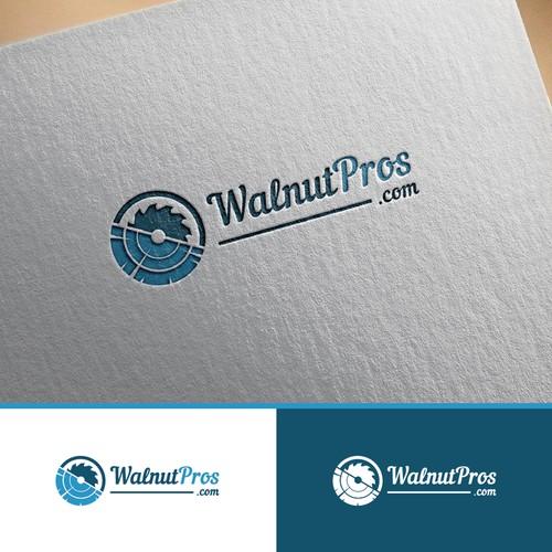WalnutPros.com needs a professional logo for a new website launch.