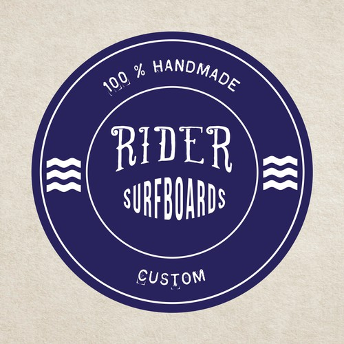 Rider Surfboards is looking for a face-lift with a fresh, appealing logo