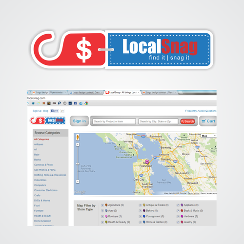 Create the next logo for LocalSnag