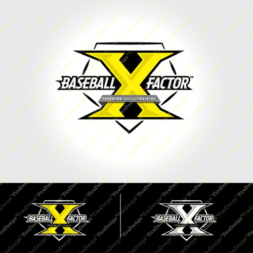 Baseball Logo for Baseball X Factor