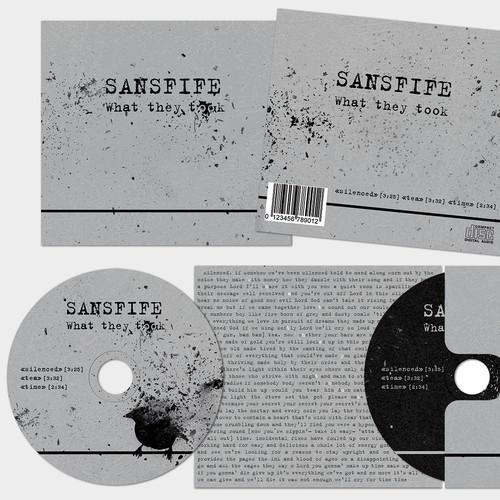 Simple Indie CD Design Package