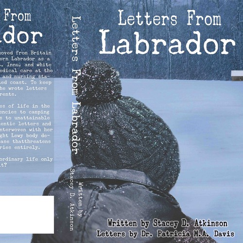 Creative Book Cover Design for Letter From Labrador