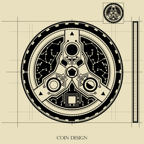 Coin Design for a Science Fiction Fantasy