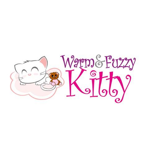 """FEMALE TEENAGE KITTY"" LOGO - Young, Hip, Modern, Stylish CAT"
