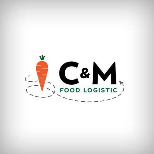 Logo design for logstic company