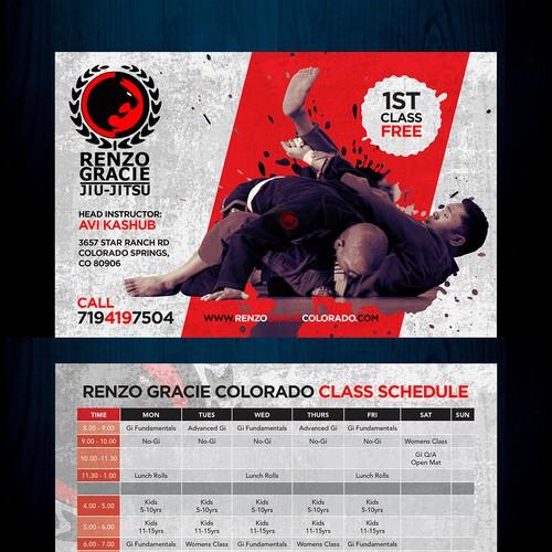 Postcard for Brazilian Jiu-Jitsu