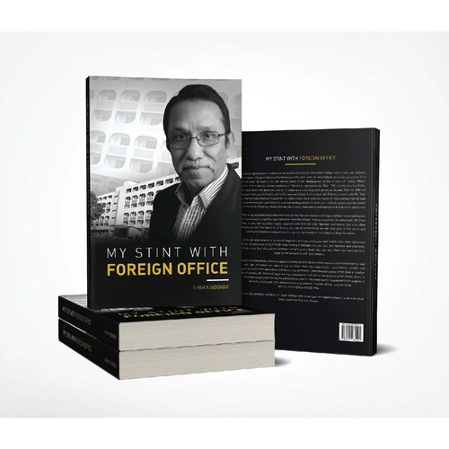 Book Cover of ' My Stint with Foreign Office '