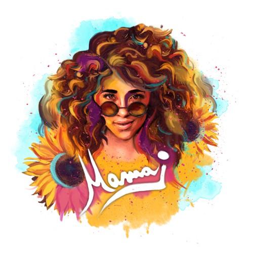 Timeless logo for sensational recording artist - Mama J